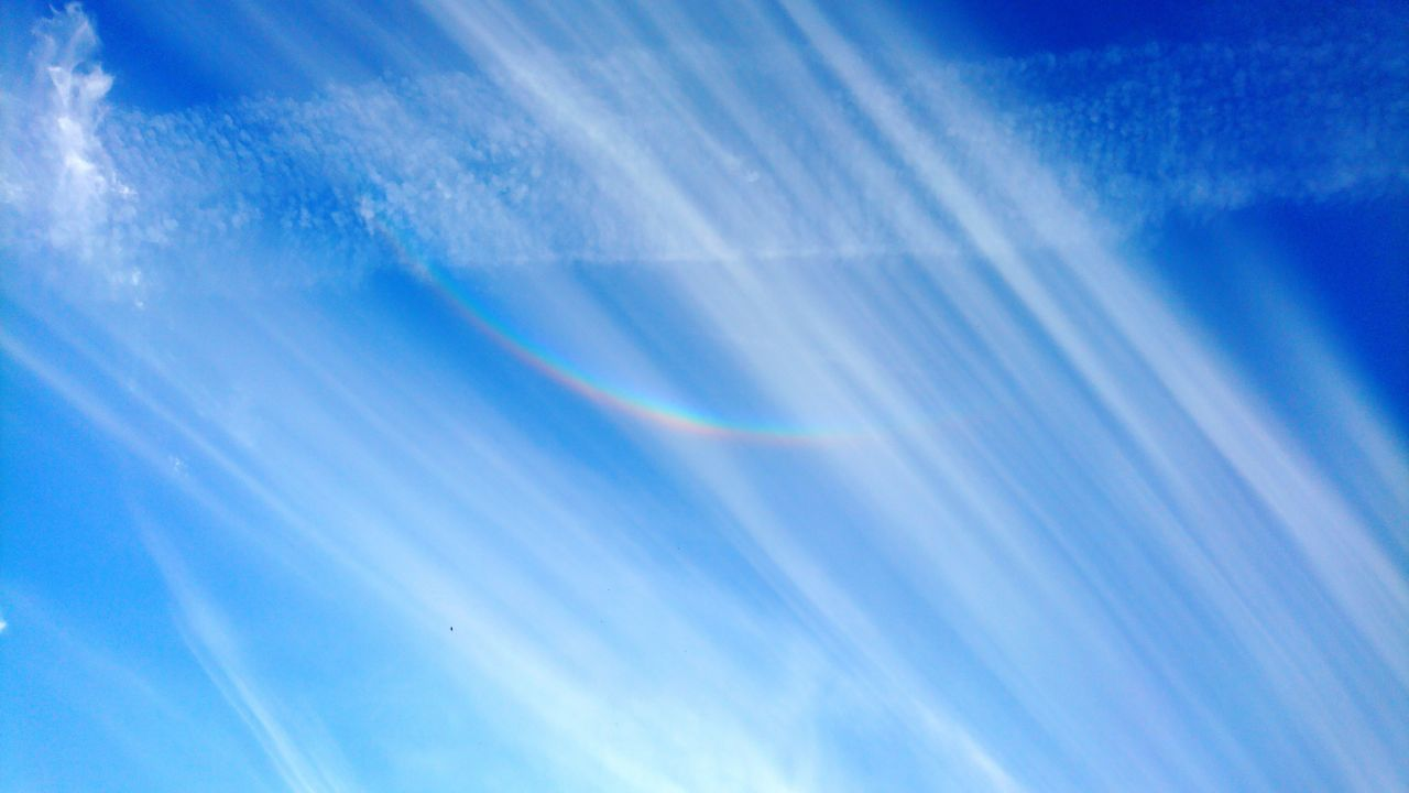 Rainbow No People Blue Outdoors Spectrum Day Refraction Nature Sky Beauty In Nature Rainbow Colors Rainbow Sky Zirkumzintalbogen Circumzenithal Arc Zirkumzenitalbogen