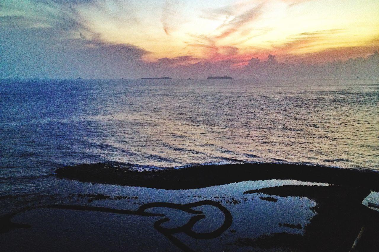 Beauty In Nature Sea Sunset Nature Landscape Ocean