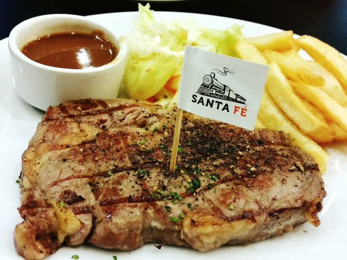 Santafe' Ribeye Steak Enjoy A Meal