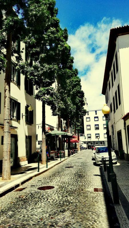 Rua Ruas Ruas Da Cidade City Street Street Funchal Funchal Madeira Madeira Madeira Island I Love Madeira City View  Portugal City City Streets  Cityphotography Hello World Sky Clouds Ig_captures Eye4photography