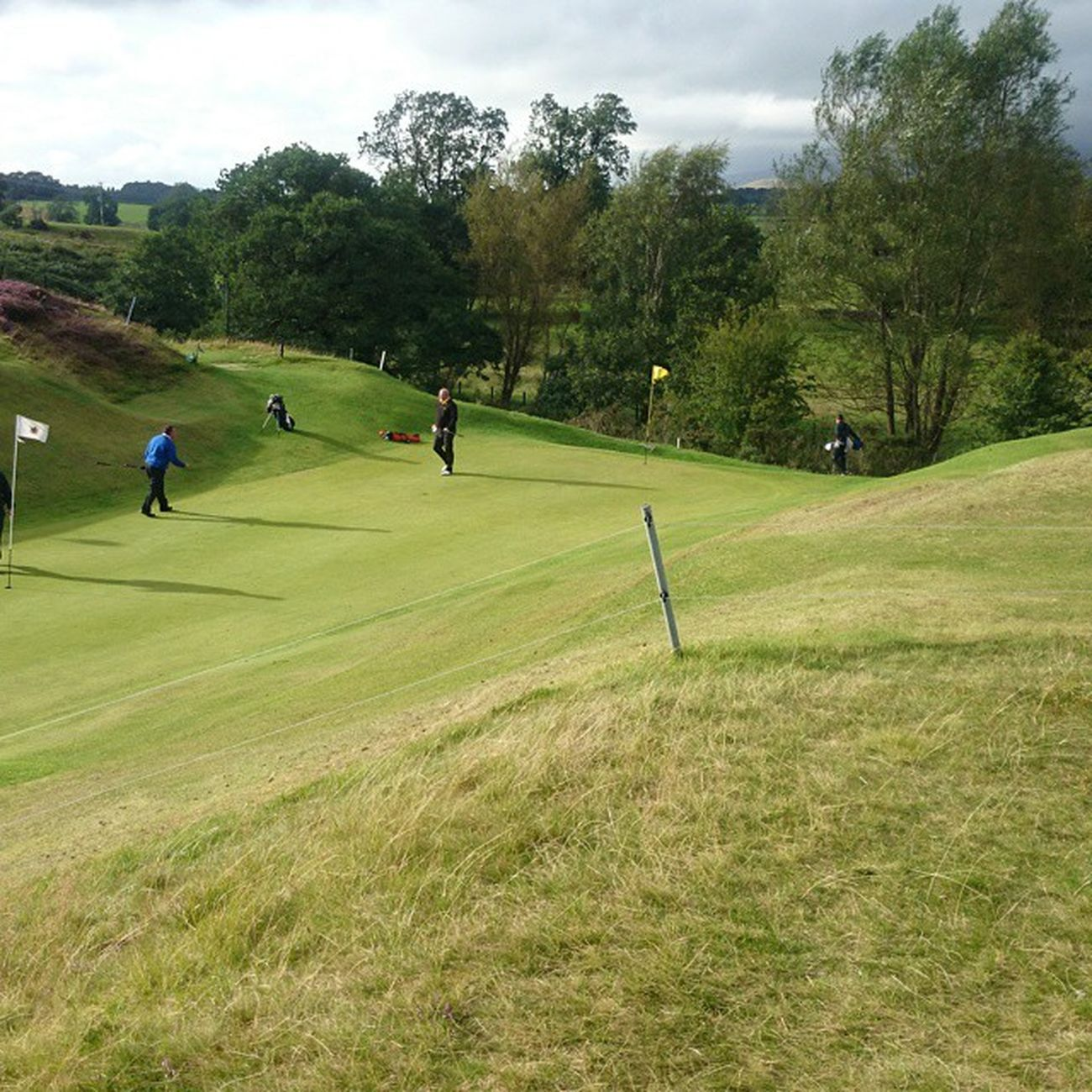 Favorite green. Managers match. Appleby Golf Green Smooth Fast Well  Kept Outdoors Cumbria 2ndhome