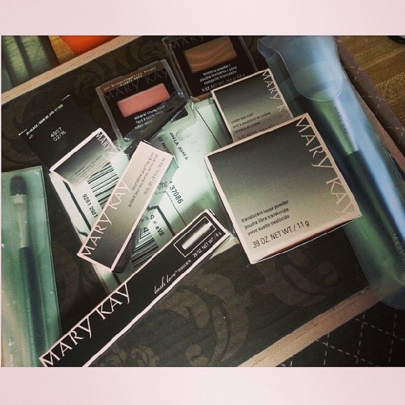 Free Makeup from MaryKay via Influenster so excited! MKGLAM