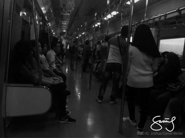 Evening train rides in the Philippines. Travel Train Evening Philippines LRT Lrt2 Pinoy