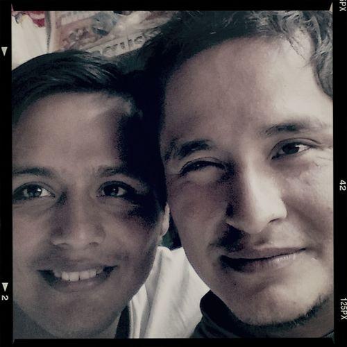 Foto de hace ufff con mi hermano... Esostiempos