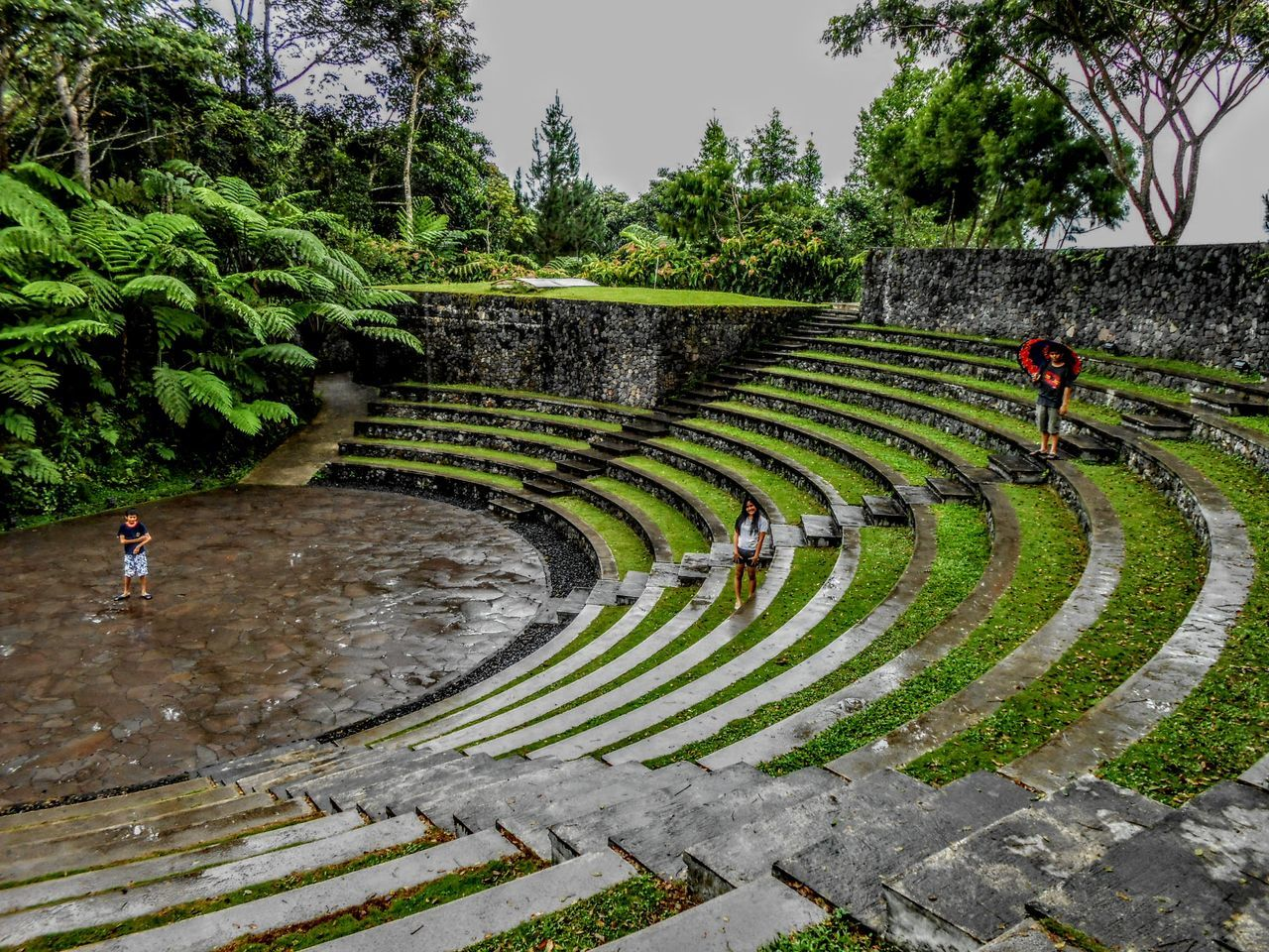 Amphitheater Outdoors Manado - North Sulawesi, Indonesia. Traveling Home For The Holidays Hill Hill Of Prayer Bukit Doa Architecture Vacations Travel Destinations From Where I Stand Travel Photography Landscape Been There.