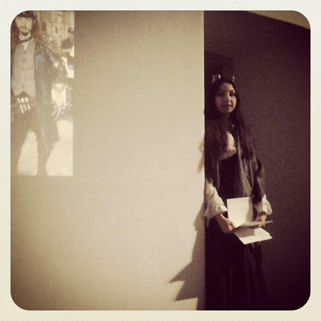 Lovely @photosif ci racconta lo Steampunk nella cinematografia durante il primo Salotto Steampunk al @luporossotorino 26of365 2013 Aphotoaday lady portrait victorian girl