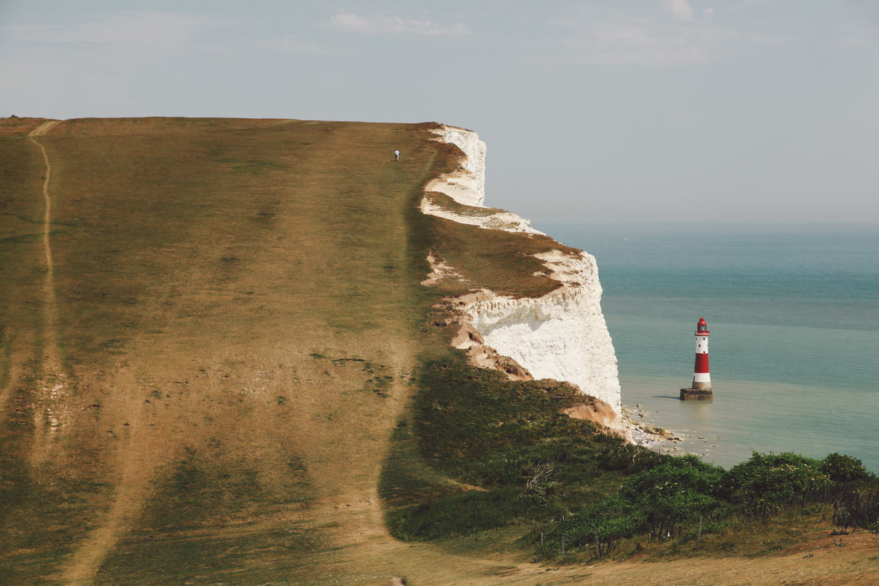 Beachy Head Beachyhead Cliff Coastline The Great Outdoors With Adobe Holiday Horizon Over Water Idyllic Lighthouse Nature No People Outdoors Remote Rock Formation Scenics Sea Sky Summer Tourism Tranquil Scene Travel Travel Destinations Water The Great Outdoors - 2016 EyeEm Awards EyeEm X Adobe - The Great Outdoors
