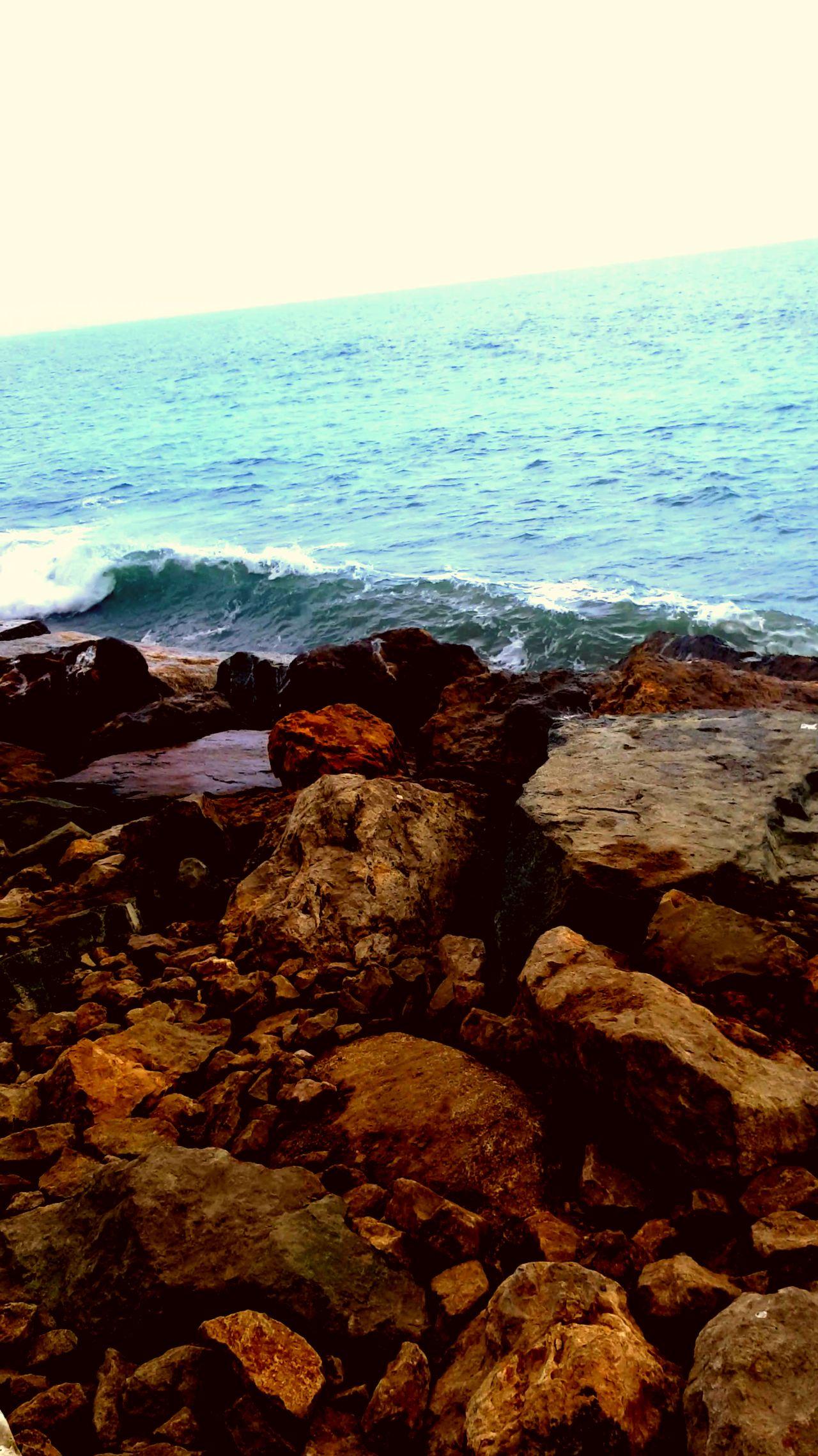 California Santa Monica Santa Monica Beach Ocean Wawes Rocks Blu Oceans Relaxing Chill Chill Mode