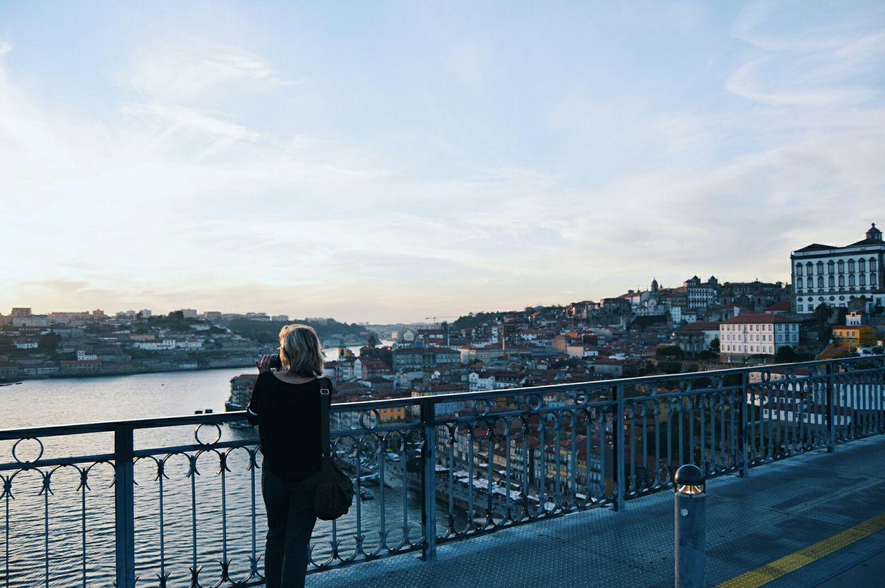 Beautiful stock photos of portugal, Architecture, Bridge, Bridge - Man Made Structure, Building Exterior