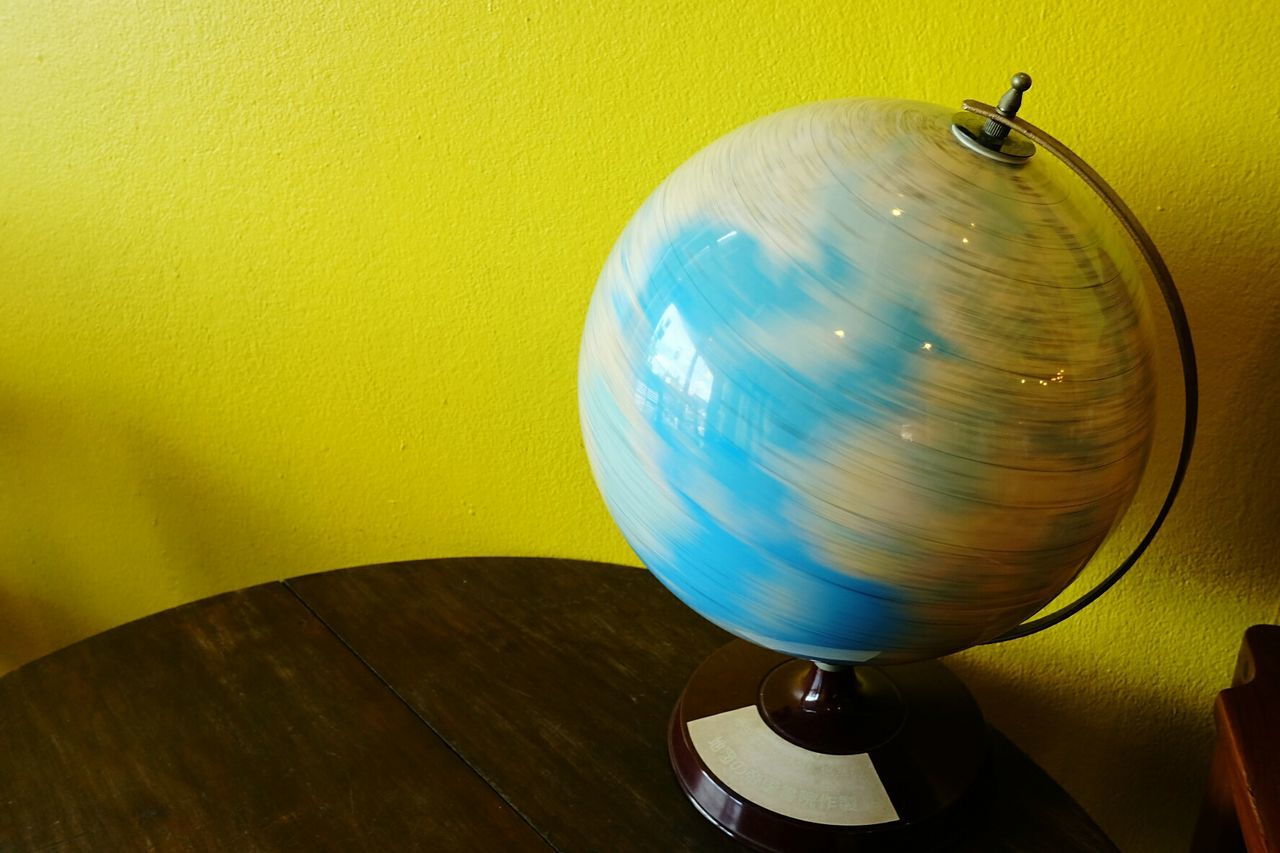 Beautiful stock photos of globe of earth, Close-Up, Day, Globe - Man Made Object, Indoors