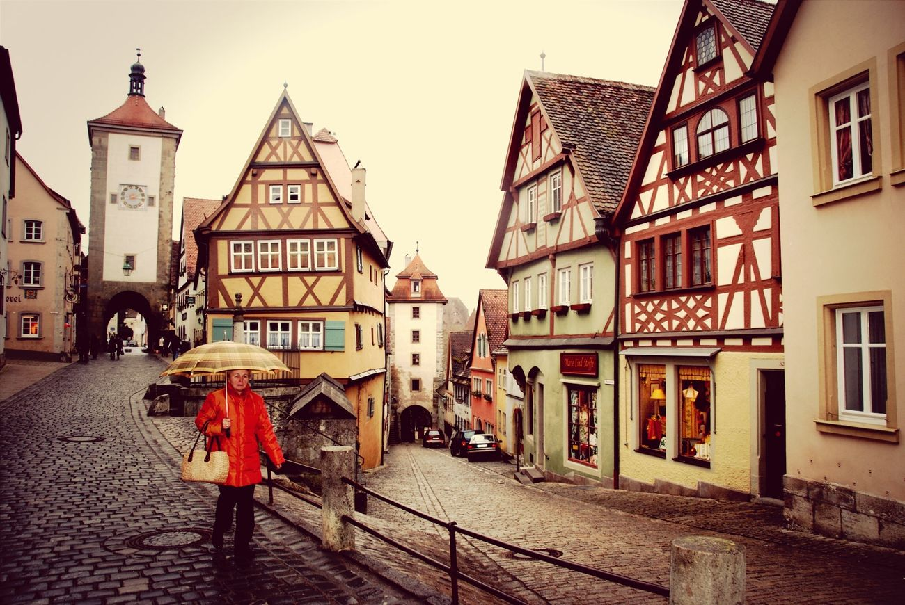 Four Years Ago Rothenburg O. T.