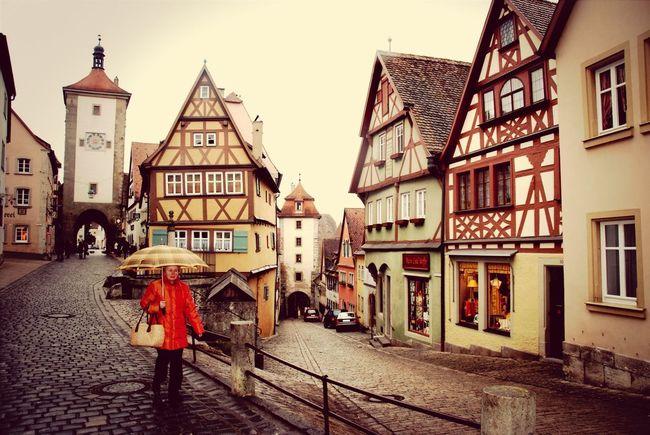 Four Years Ago Rothenburg O. T.
