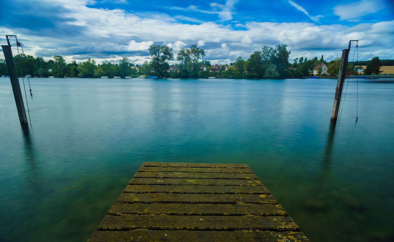 #Blue #enjoythemoment #Forward #landscape #mirror #Nature  #nopeople #Rhein #water #way