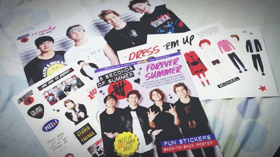 Bought my collector's edition Candy fan mag: 5SOS Edition. 🙌 Fangirling 5SOS Candymag Collectorsedition Enjoying Life LIKE THIS PHOTO 5sosrockoutwithyoursocksout