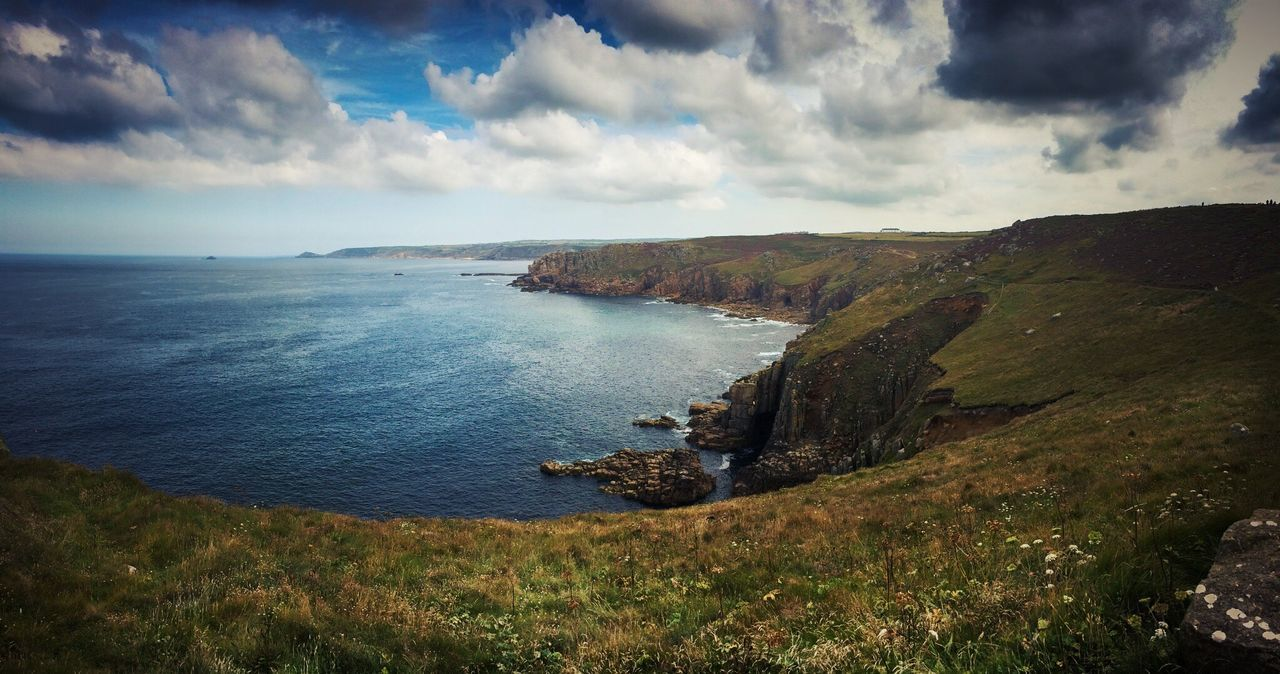 Lands End , UK. The Great Outdoors With Adobe Outdoors Landscape Landscape_Collection Landscape_photography Landscape Photography Lands End Lightroom Mobile IPhoneography Iphone6s Reedited