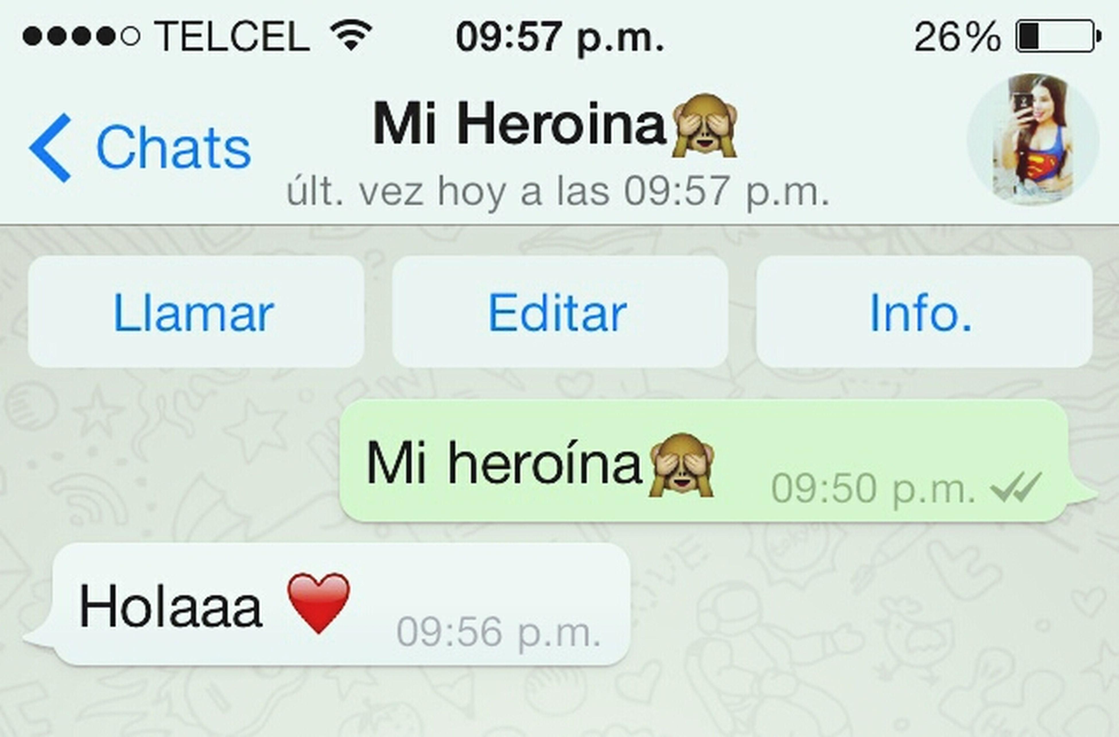 Damn... Soy Su Heroina O: