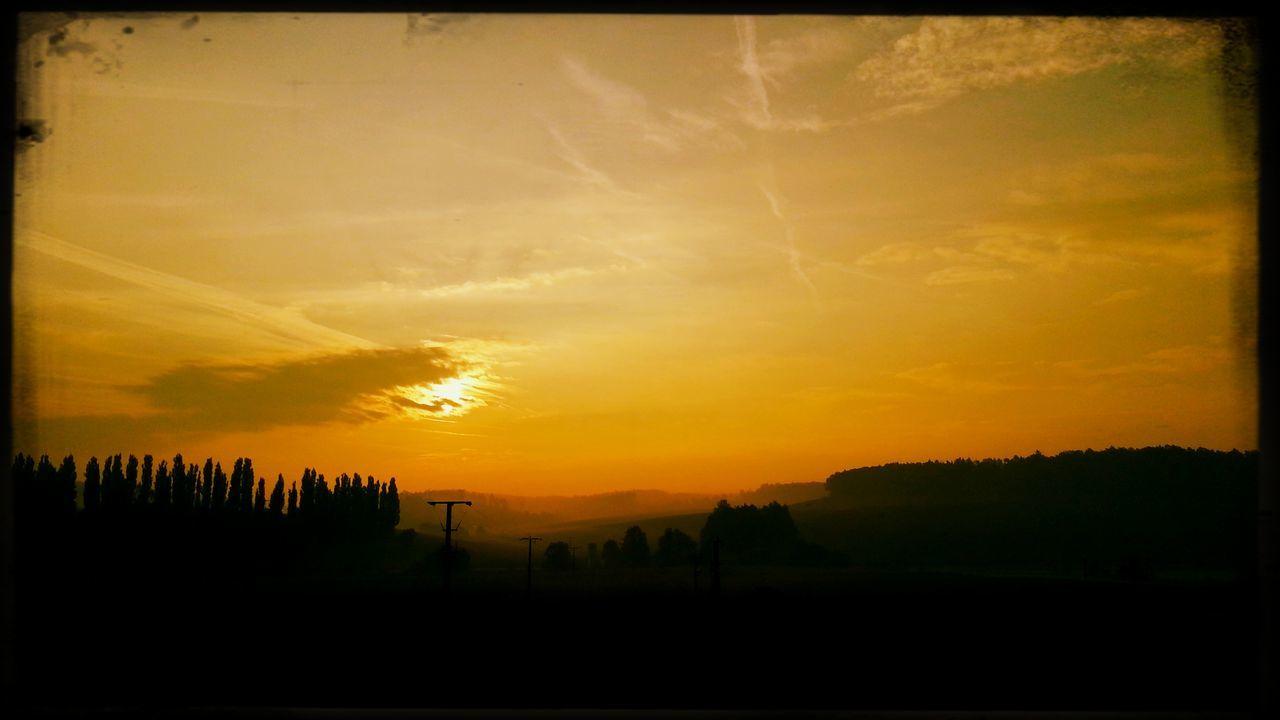 Sunrise Bavaria Good Morning World! Sky And Clouds