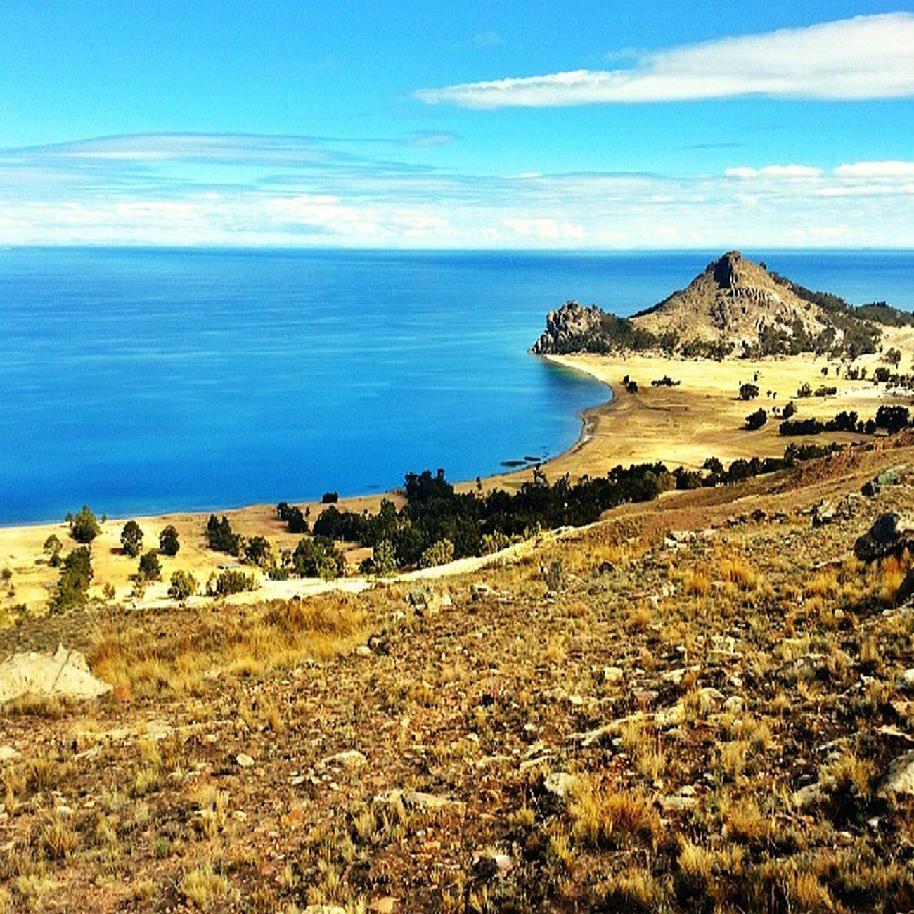 View of LagoTiticaca