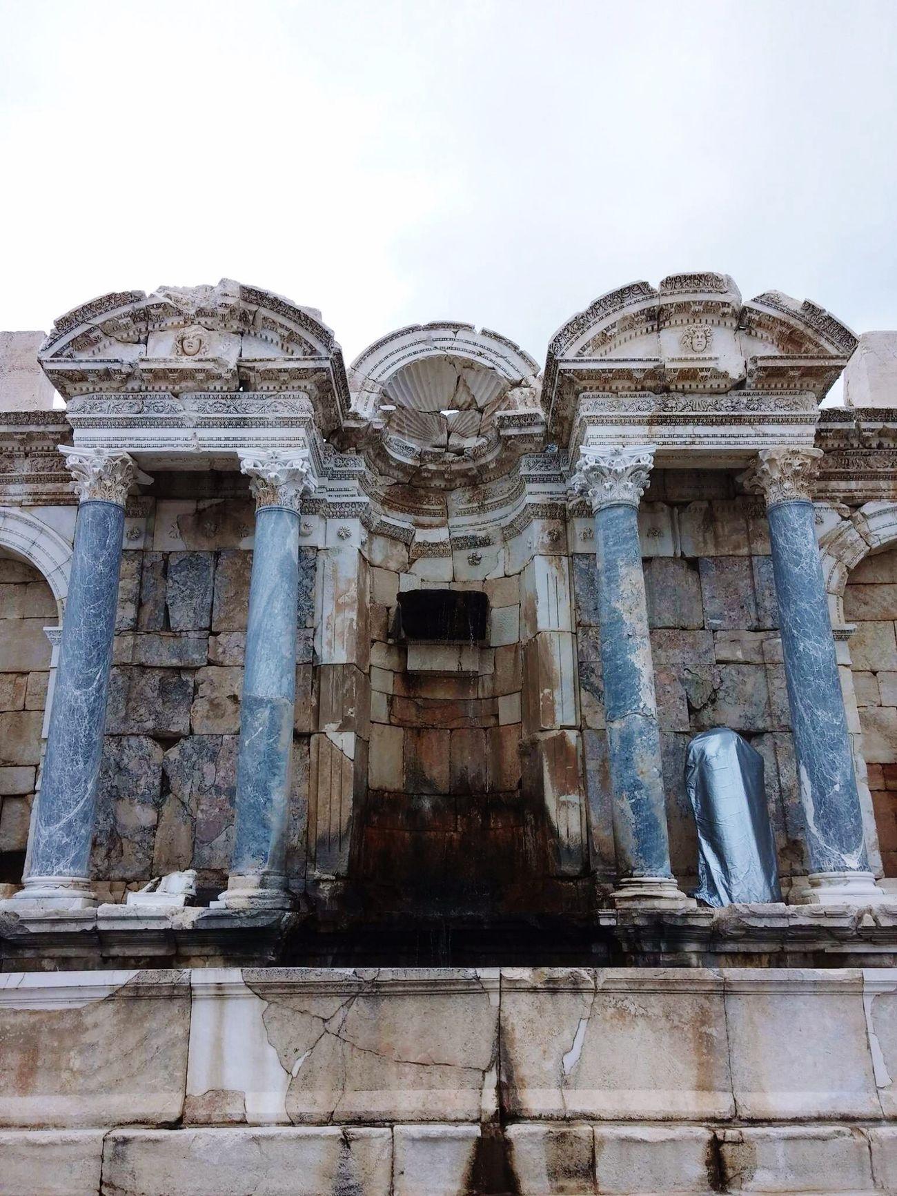 Ağlasun sagalassos antik kent antoninler Çeşmesi Historic City Hello World