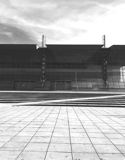 Sky Day Built Structure Architecture Outdoors No People Railroad Station Platform Messe Hannover City