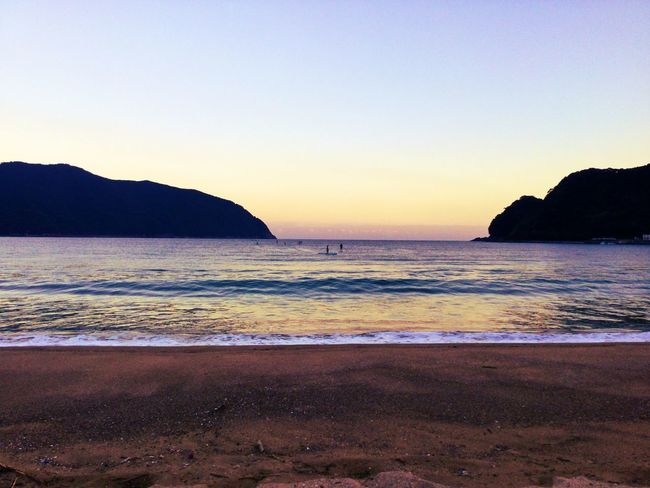 such a beautiful sea Japan Nature Sea Sky Sup Mie Landscape IPhone IPhone Photography