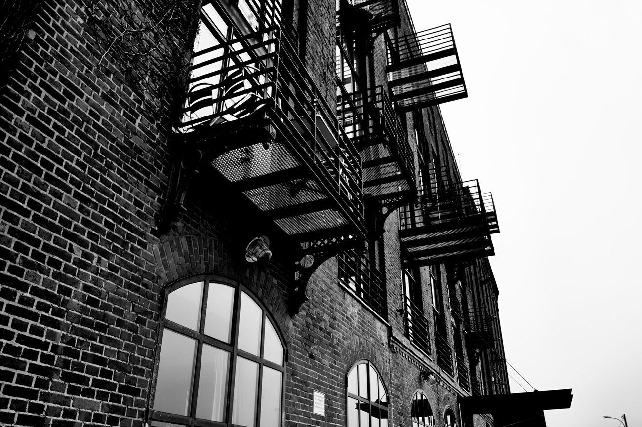 building Sony Alpha 58 Münster Hafen Black & White Building Architecture Brickstones