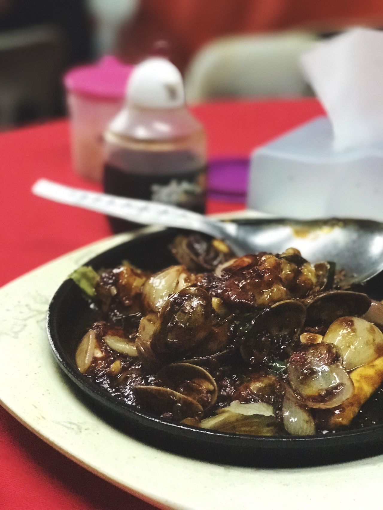 Seafoods Chinese Food Chinese Chinese Style Food And Drink Food Plate Ready-to-eat Serving Size Healthy Eating Table Indoors  Freshness No People Close-up Focus On Foreground Bowl Meal Gourmet Day Sotong Lala Shrimps Spicy Food Spices
