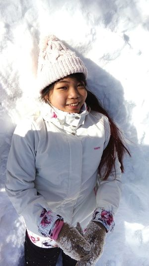 """Child Children Only Winter Childhood Warm Clothing One Person Snow PortraitNature Cheerful Fabruary Females Young Women Glove Smiling Cold Temperature Snowing Outdoors Human Body Part Young Adult Beautiful People One Young Woman Only Beautiful Woman Cold Temperature Smiling Glove Special photoset """"Happiness in snow"""""""