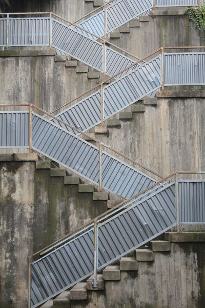 Architecture Building Exterior Built Structure Concrete Day No People Outdoors Steps Steps And Staircases The Architect