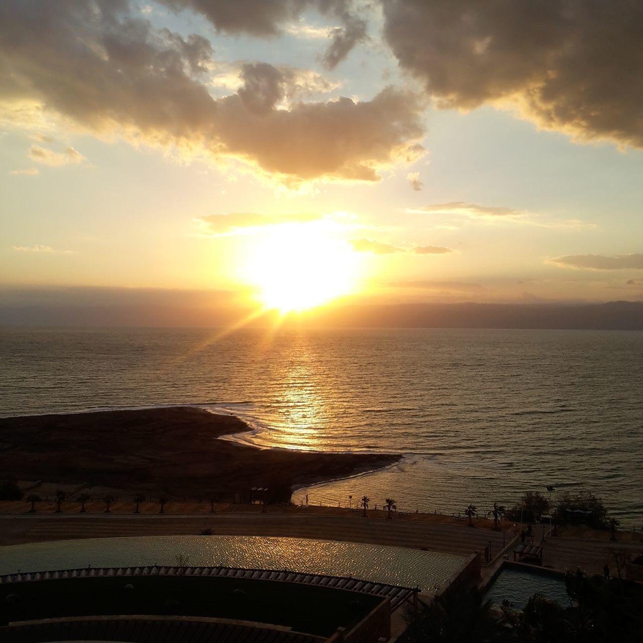 Sunset Deadsea Jordan Noeffect Nofilter Nature Beauty