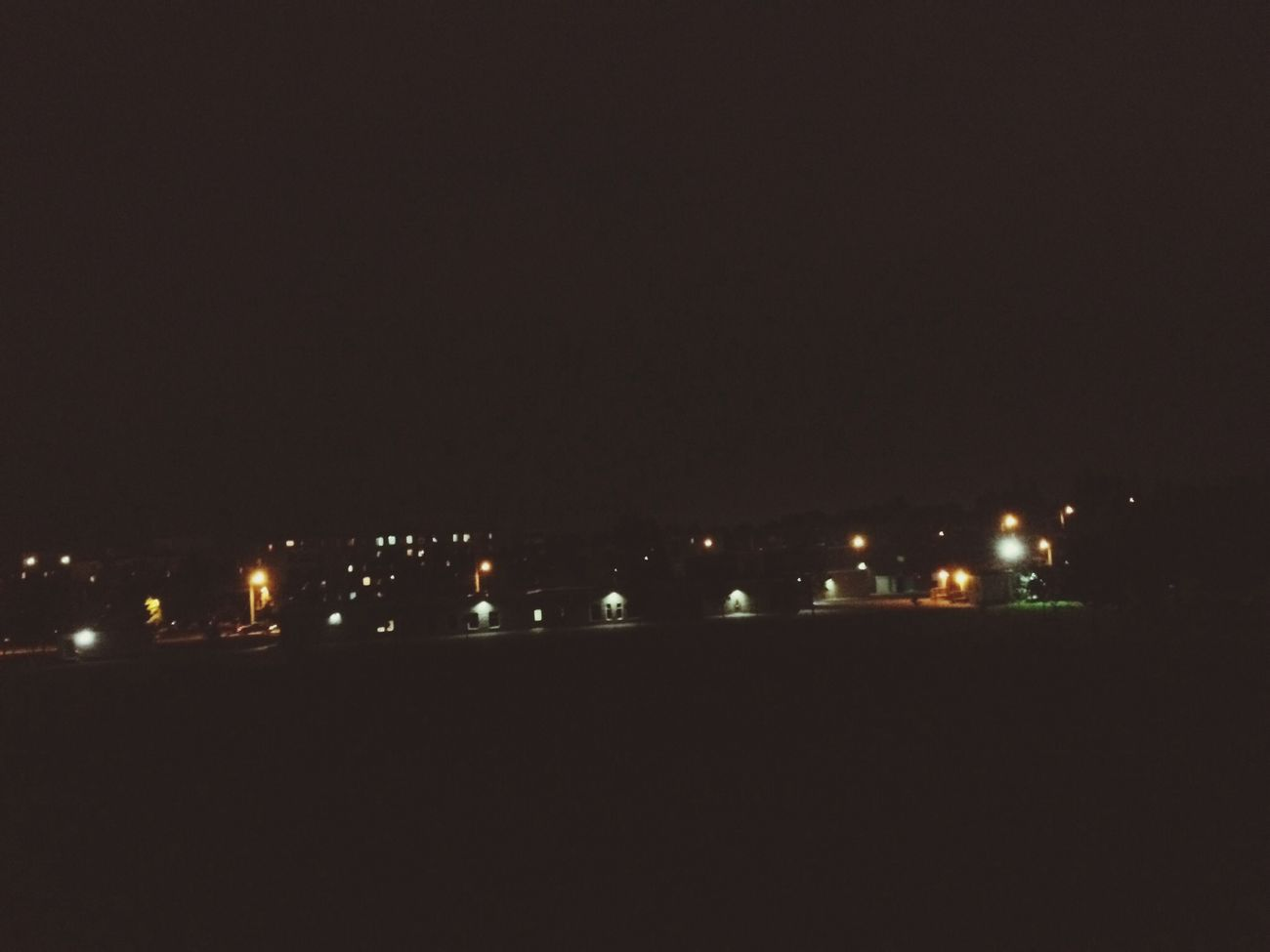 Down the hill. Guelph Night View Night Sky Goodnight