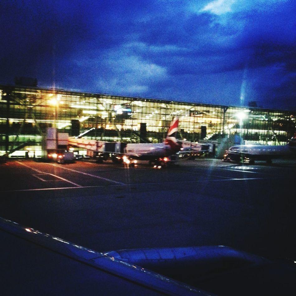 Heathrow Airport British Airways Flying London Nightphotography