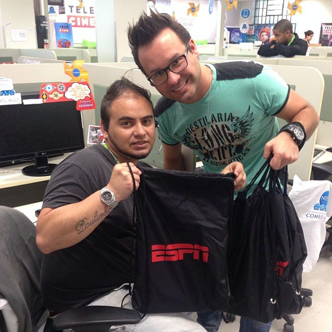 Mais brindes da campanha melhor vendedor ESPN ESPNHD ESPN ESPNBRASIL NETTV CONTAX
