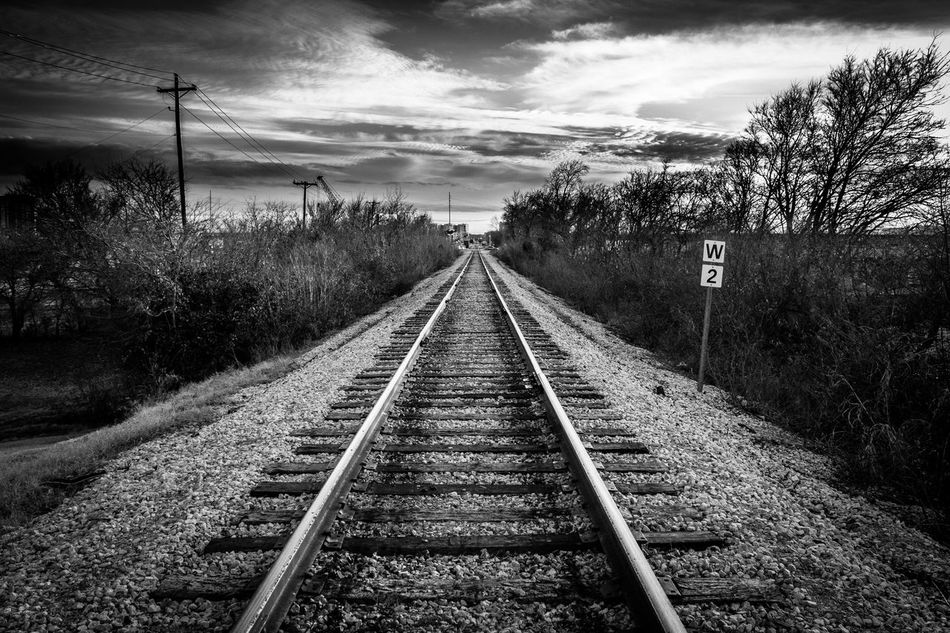 Railroad Track Railroad Tracks Fortworth Fort Worth Everettszurek Rail Transportation Tree Nature Outdoors Sky Black And White Black And White Railroad Trinity River Fort Worth, TX FW Fort Worth Texas No People Fort Worth Stockyards DFW City The Way Forward Transportation Day