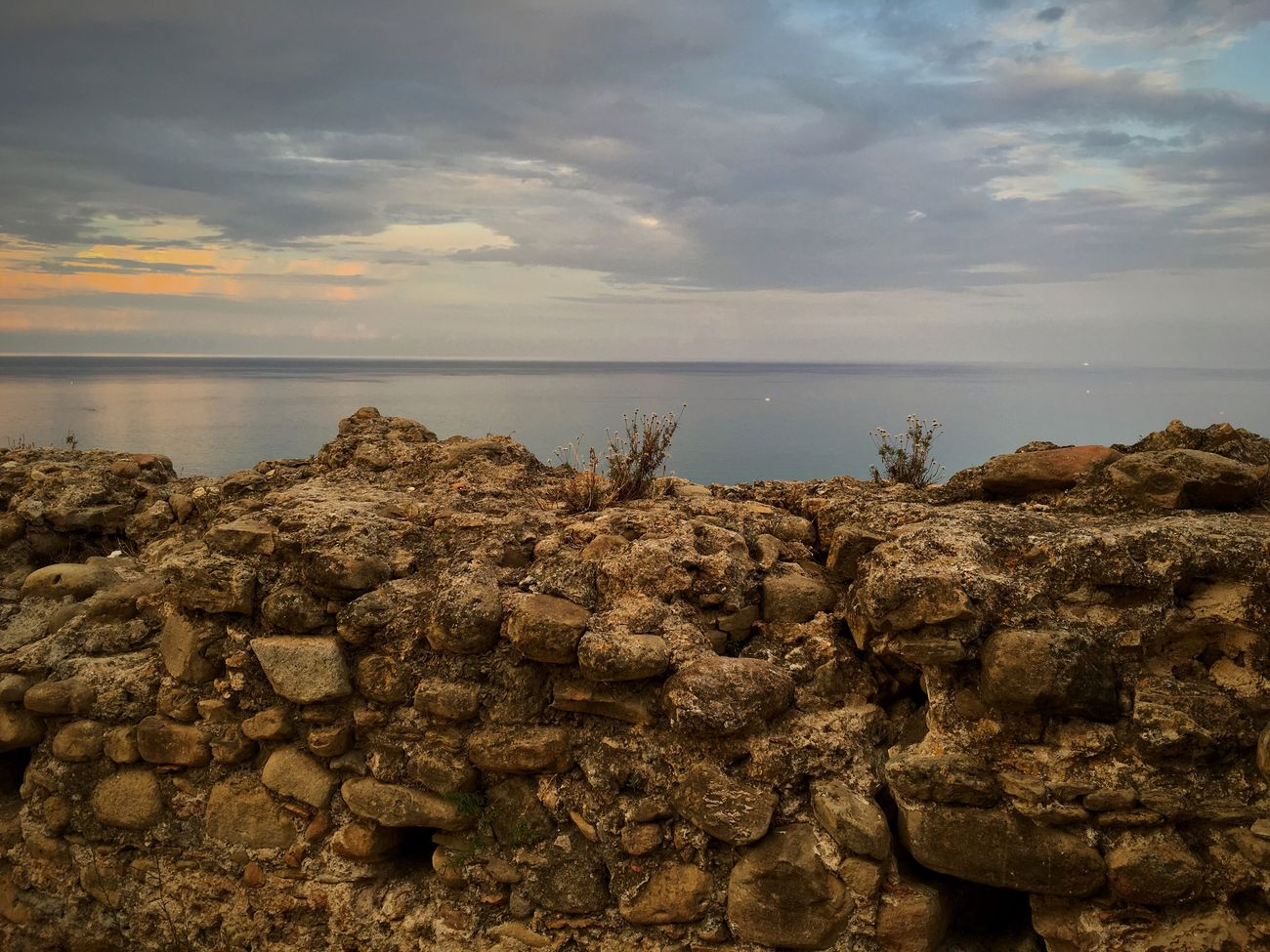 Sea Water Horizon Over Water Sunset Sky Dramatic Sky Seascape Panorama Sea And Sky My Favorite Place Seaside Sky_collection Italia Summertime Calabria Old Buildings Sunset_collection Landscape Cloudscape Dramatic Sky Sky And Clouds Italy Calm