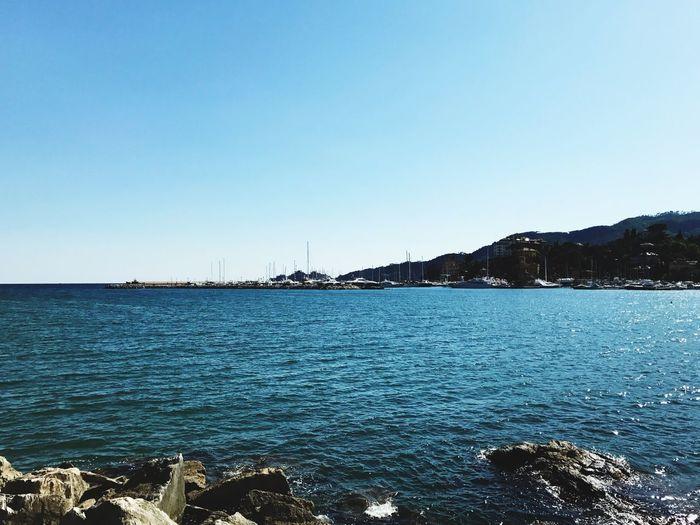 Nature Italian Riviera Seascape Sea Italy❤️