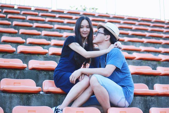 情侣 NUIST Live Love Shop Feel The Journey Portrait Summer 2016 Nanjing Fresh On Eyeem  Portrait Of Love 毕业季 Summer2016 Original Experiences 校园