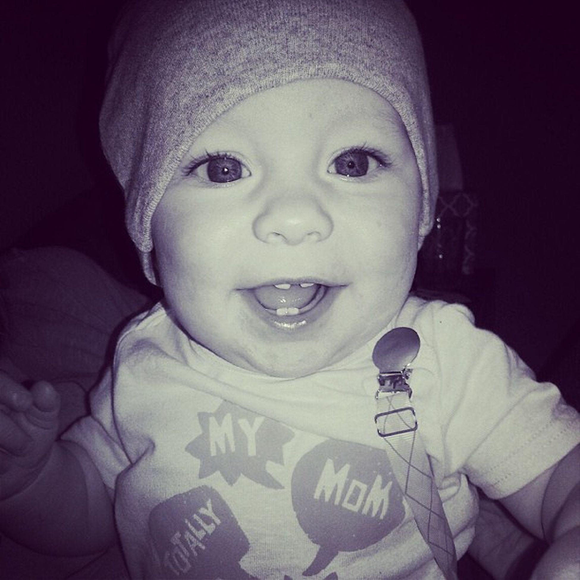 Those teeth! Nephew  Baby Buckteeth