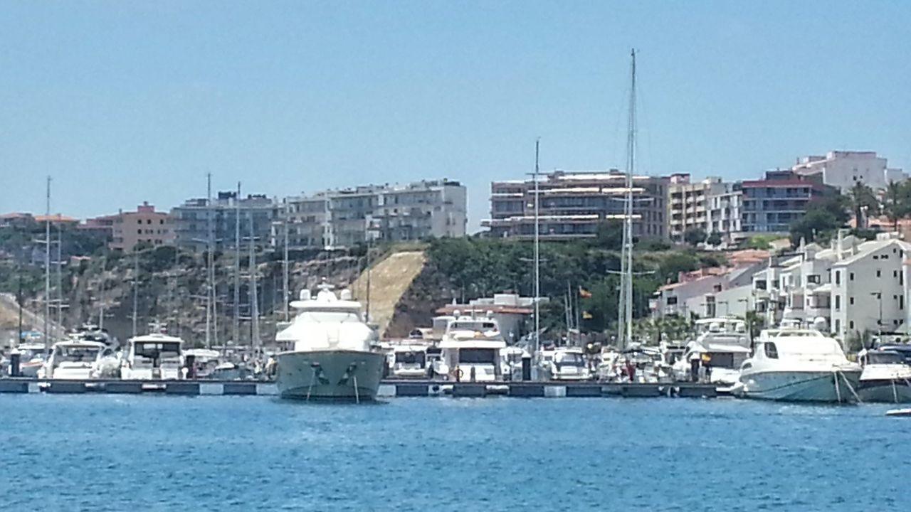 Boat Seascape Photography Sea And Sky Seascape Boats And Moorings Mahón Mao Menorca