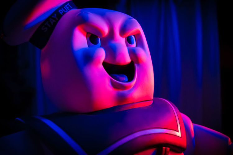 Blue Close Up Evil Ghostbusters Glow Mr. Stay Puft Red Stay Puft Marshmallow Man