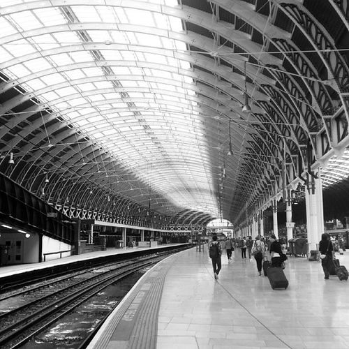 Arrived in one piece at Paddington