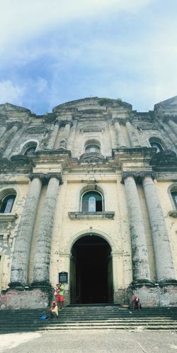 Taal church Taal Taalbasilica Taal, Batangas Architecture Real People Built Structure Day History Arch Sky