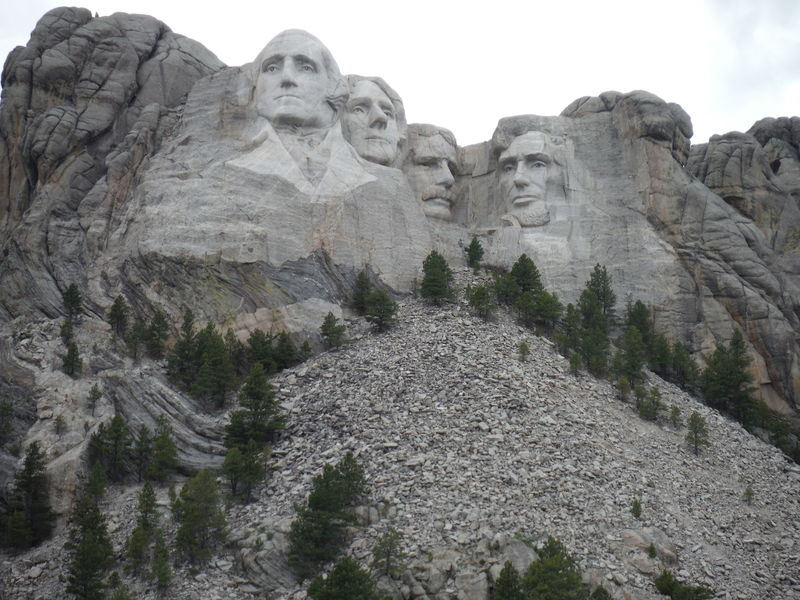 Mount Rushmore Mount Rushmore National Memorial Ancient Civilization Day History Human Representation Low Angle View Male Likeness Mountain Nature No People Outdoors Sculpture Sky Statue