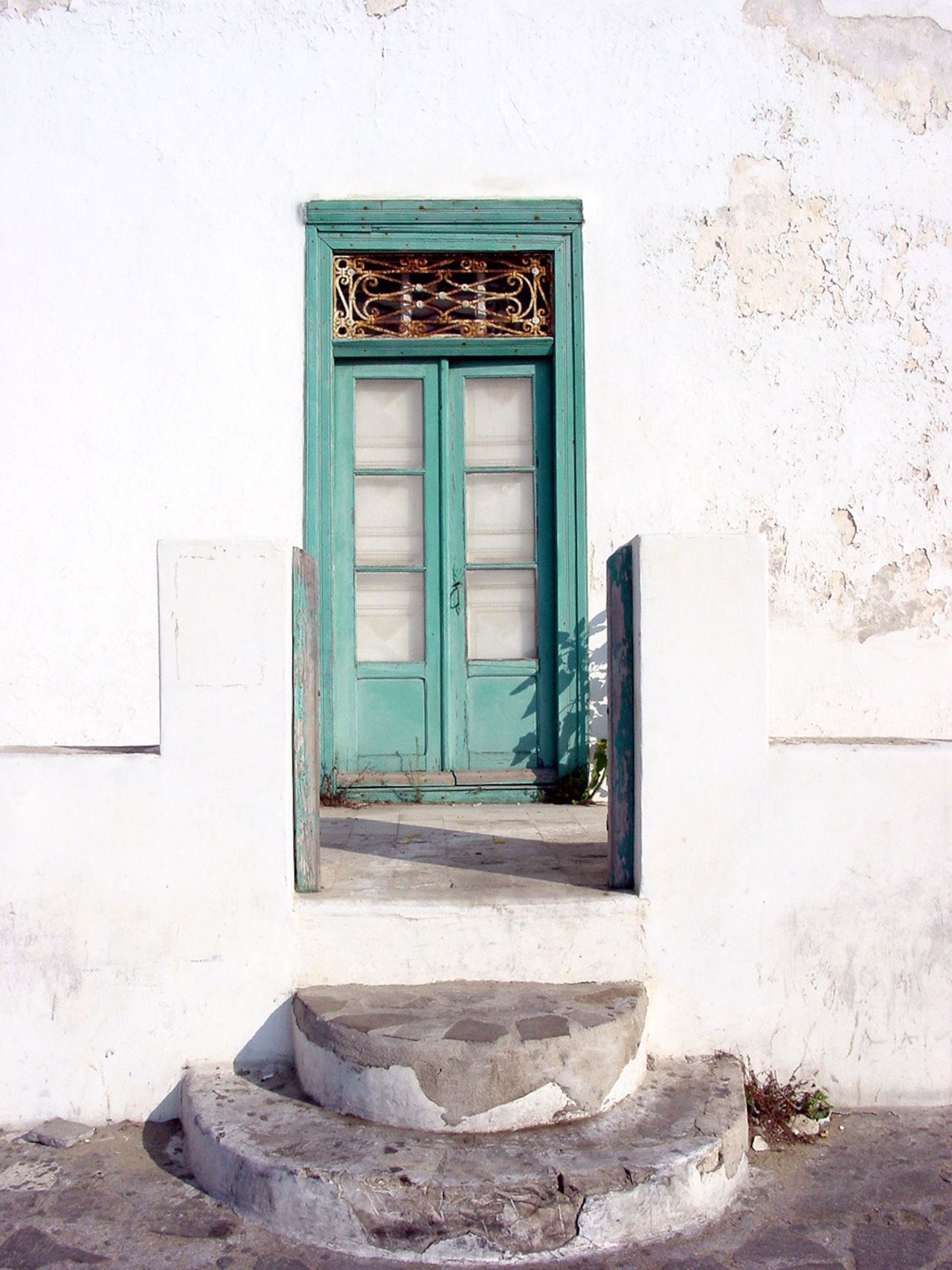 Summer Welcome Bradleywarren Photography Bradley Olson Doors Entrance Front Door Greece Whitewash Summertime