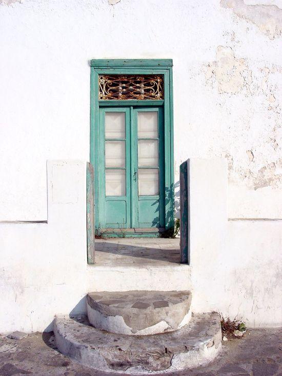 Summer Welcome Bradleywarren Photography Bradley Olson Doors Entrance Front Door Greece Whitewash Summertime