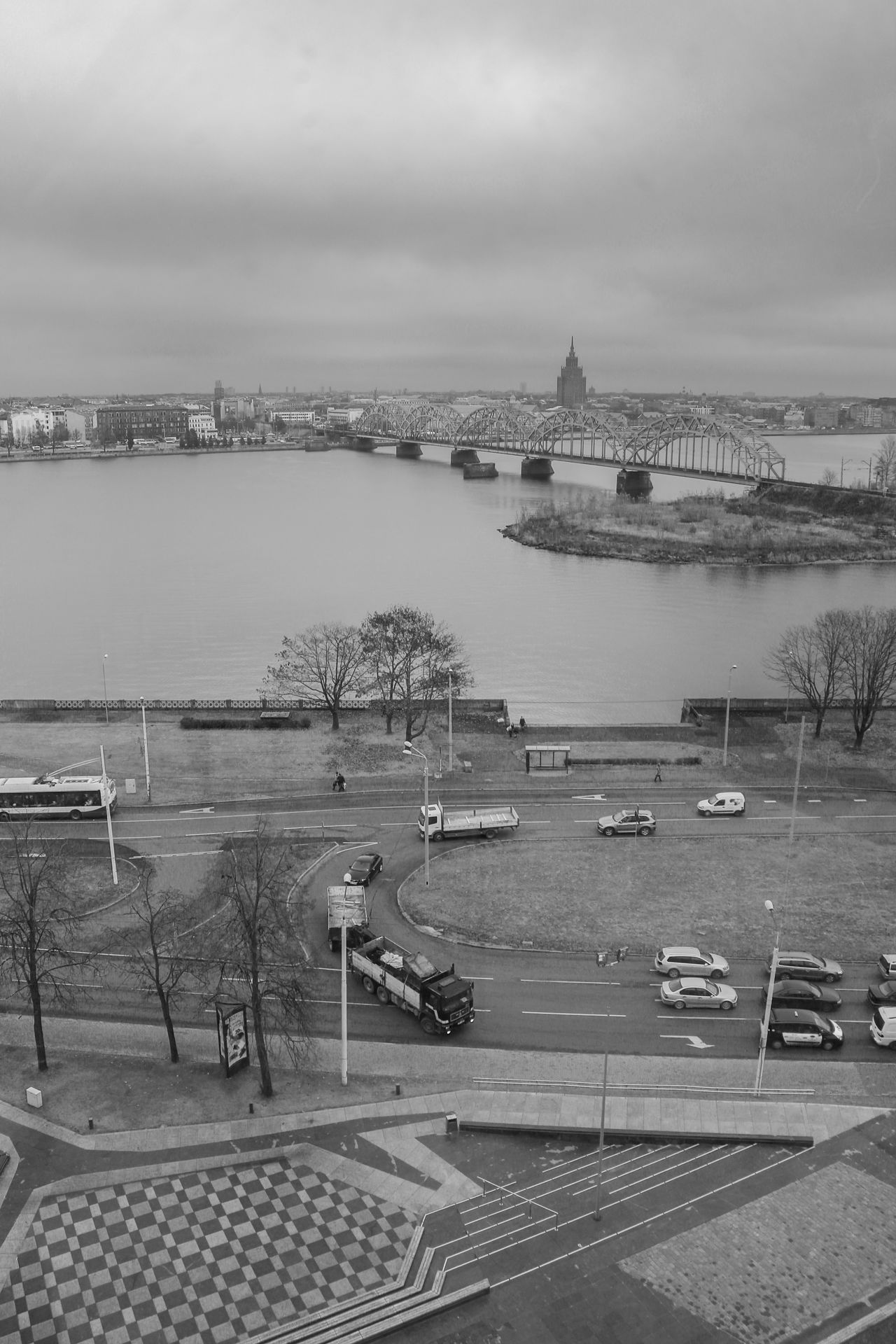 Daugava Latvia Riga Riga Latvia