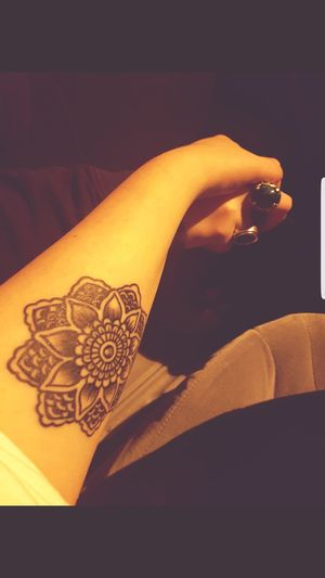No People Close-up Tattoo Tattooed Indian Henna Tattoo Ring Rings Love Gold Indoors  Astrology Sign Day