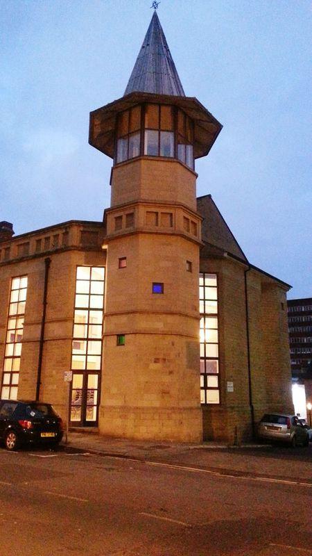 Huddersfield Built Structure England, UK England In Autumn Architecture Travel Destinations Night Illuminated