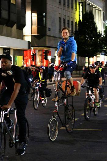 Cyclist Bike Nightphotography Canon 70d