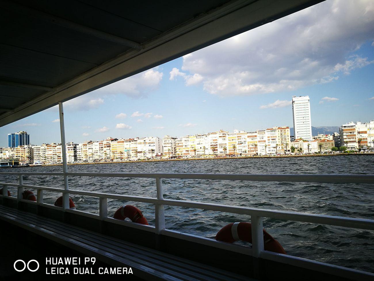 Cityscape Architecture Business Finance And Industry Travel Destinations Sunset Beautiful ♥ Ships⚓️⛵️🚢 Izmir ❤ Alsancak Kordon
